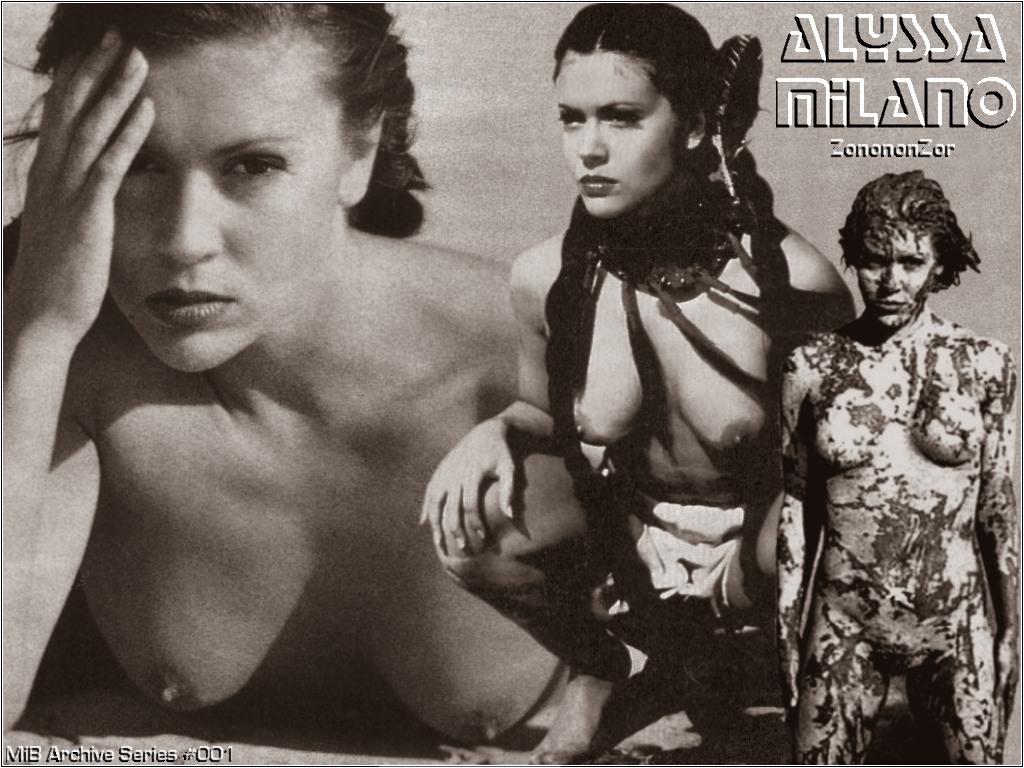 Absolutely agree alyssa milano vagina was under